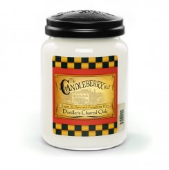 Candleberry Candle Distillers Charred Oak Lrg