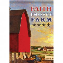Faith Family Farm Flagga
