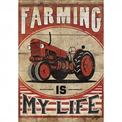 Farming Is My Life Flagga