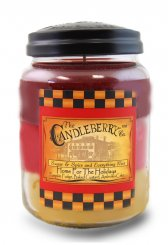 Candleberry Candle Home for the Holidays Lrg