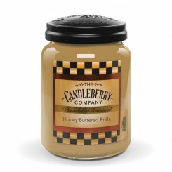 Candelberry Candle Honey Buttered Rolls Lrg