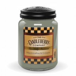 Candelberry Candle Marshmallow & Ember Lrg