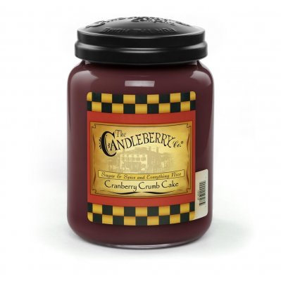 Candleberry Candle Cranberry Crumb Cake Lrg