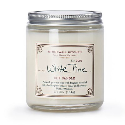White Pine Soya Candle